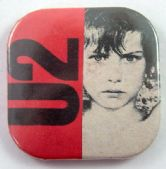 U2 - 'Boy' Square Badge